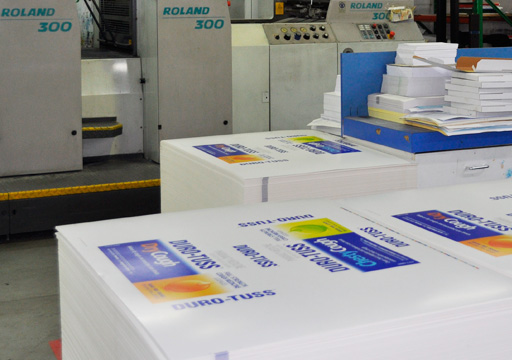 Planet offset printed stacks