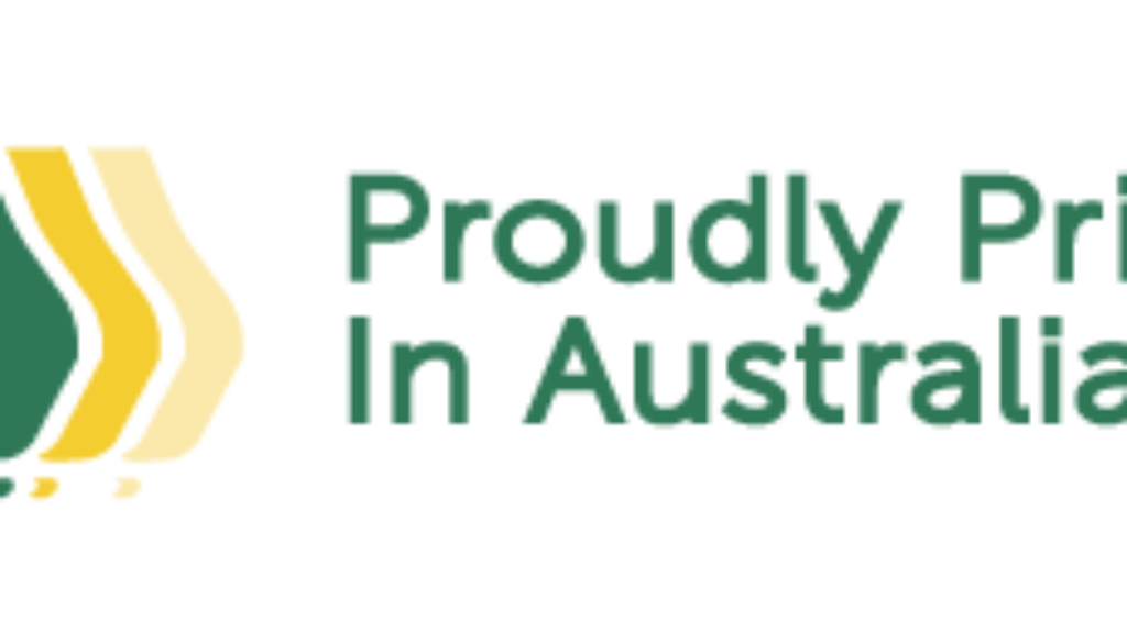 Print Industries Proudly Printed In Australia Logo